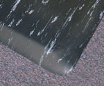 photo of marbleized tile top mats