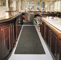 photo of Cushion-Tred mat in a kitchen
