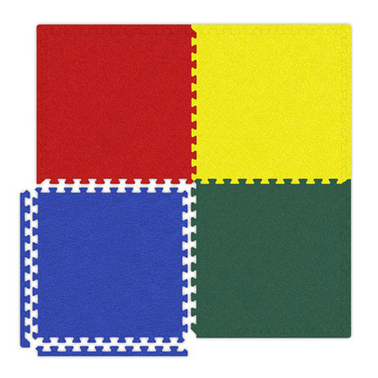 photo of softtouch floor tiles