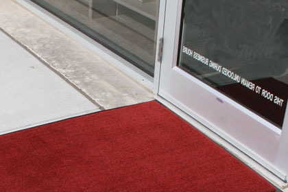 photo of entrance mat
