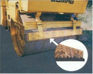 photo of cocoa mat road roller