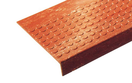 photo of lo-disc stair tread