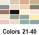 graphic of twenty color options